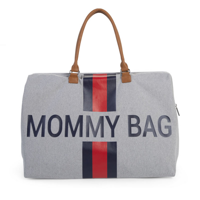 Prebaľovacia taška MOMMY BAG - Stripes red-blue